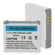 Casio G'ZONE ROCK Cellular Battery