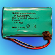 PANASONIC 433871 Battery