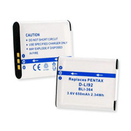 Pentax WG-2 Video Battery