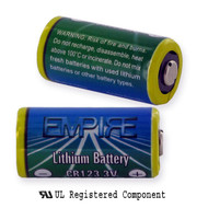 Titanium Innovations CR123 Flashlight Battery