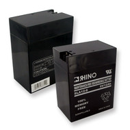 RHINO SLA 12-6 6V 12.0Ah battery (replacement)