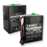 RHINO SLA 12-6A* 6V 12.0Ah battery (replacement)
