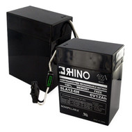 RHINO SLA 12-6H* 6V 12.0Ah battery (replacement)