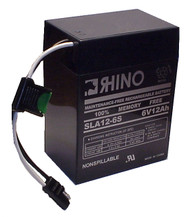LITHONIA ELU2 12VOLT battery (replacement)
