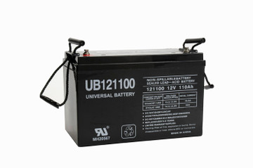 UB121100 (Group 30H) battery (replacement)