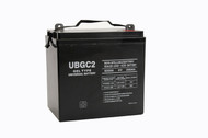 UB-GC2 (Golf Cart) Gel battery (replacement)