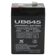 UB645 6V 4.5Ah Sealed AGM