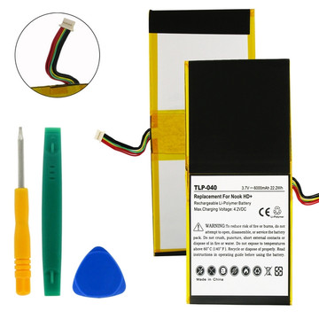 BARNES AND NOBLE NOOK HD+ 3.7V LI-POL 6000mAh REPLACEMENT BATTERY