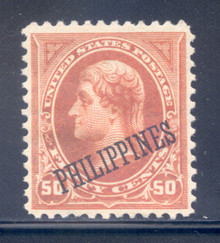 pi219g5. Philippines 219 unused, OG, VF-XF. Outstanding example of this Scarce stamp!