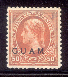 gm11d3. Guam 11 unused OG VF-XF. Large Margins! Scarce!