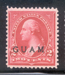 gm02e. Guam 2 unused OG NH Fresh & VF-XF. Choice example!