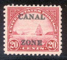 cz092d. Canal Zone 92 Unused, LH, Fresh & Very Fine. Nice!