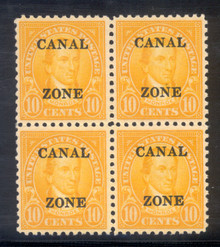 cz087j. Canal Zone 87, Block of 4, Unused, NH, Fresh & Very Fine. Choice Multiple!