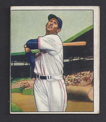 BASEBALL 1950 BOWMAN 98 TED WILLIAMS HOF BOSTON RED SOX OUTFIELDER EX SCARCE & DESIRABLE CARD!