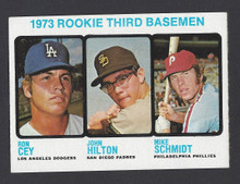 BASEBALL 1973 TOPPS 615 MIKE SCHMIDT ROOKIE CARD HOF PHILADELPHIA PHILLIES 3RD BASEMAN NRMT CARD
