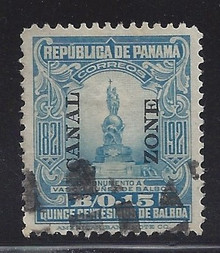 cz064b3. Canal Zone 64 Used VF-XF. Excellent Used example!
