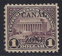cz095d3. Canal Zone 95 Unused, OG, VF-XF. Well Centered & Attractive!