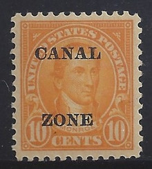 cz075c3. Canal Zone 75 Unused, LH, VF-XF. Superb Jumbo!