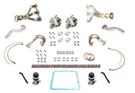 TWIN TURBO BUILD KIT (HOT SIDE COMPONENTS ONLY)