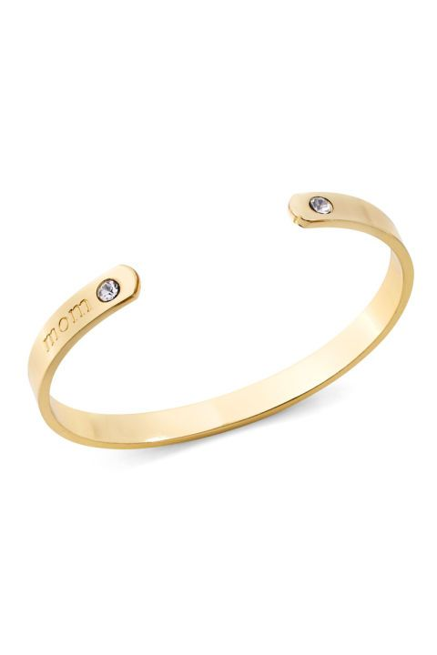 Gold Mom Bar Bangle