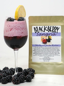 Blackberry-Sangria wine slush mix