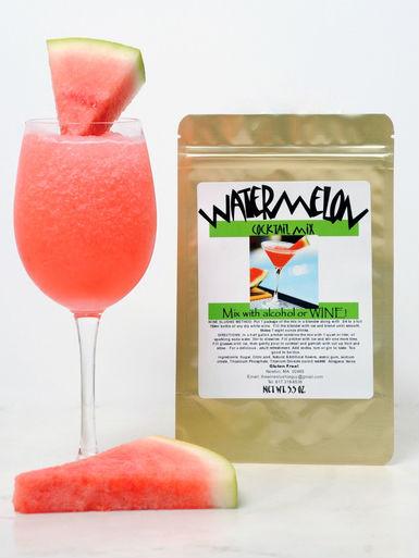 Watermelon wine slush mix