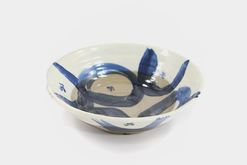 Mashiko-Yaki Cream Bowl