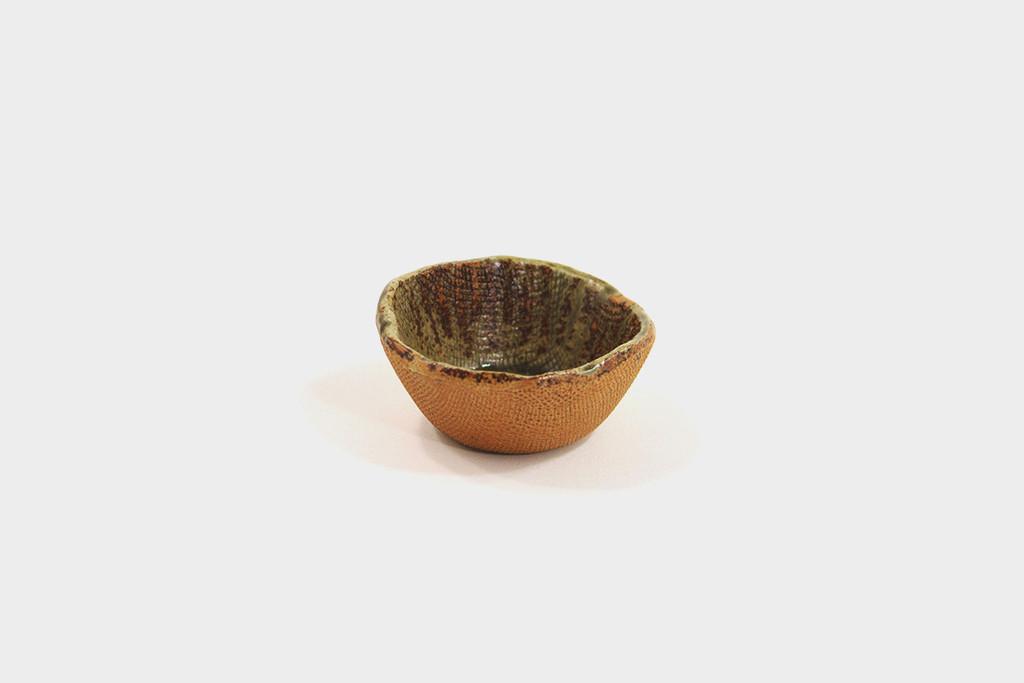 Mashiko-Yaki Brown Shoyu Dish