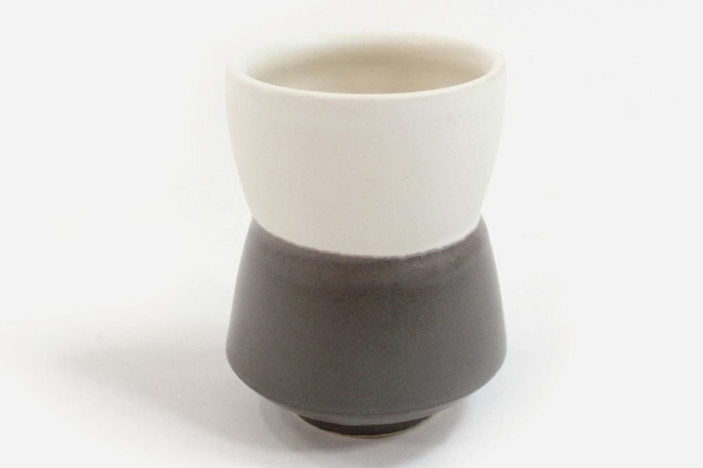 Grey Yunomi Split Cup