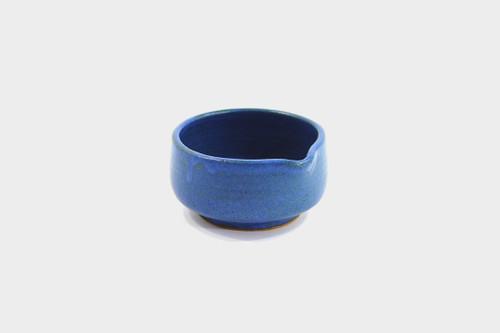 Mashiko-Yaki Blue Pouring Dish