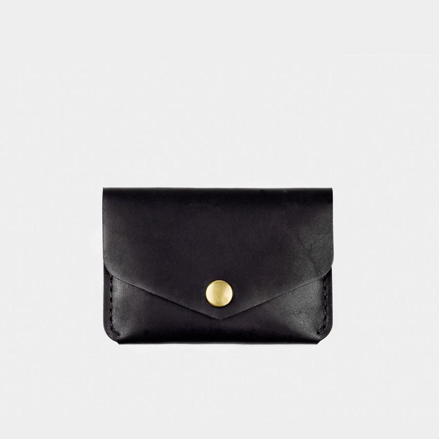 Snap Wallet Black Dublin