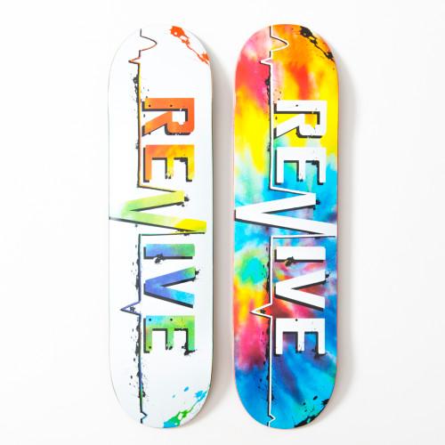 Splatter/Tie Dye Lifeline (7.75 only) - Decks