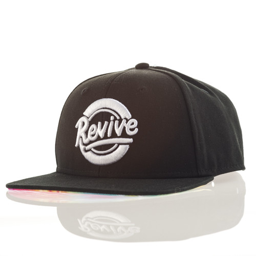 Circle Script Tie Dye- Snapback Hat