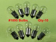 #1895 Standard Bulbs Brake Warning/Hi Beam Single Post (10 PACK) #37