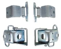 Mopar 66-70 B-Body Upper / Lower Door Hinges (4 Pc Set) #520-1466-S
