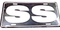 Classic Car License Plate SS #1278