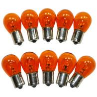 #1156NA Standard Bulbs Back Up & Running Lights 1156 Amber (10 PACK) #886