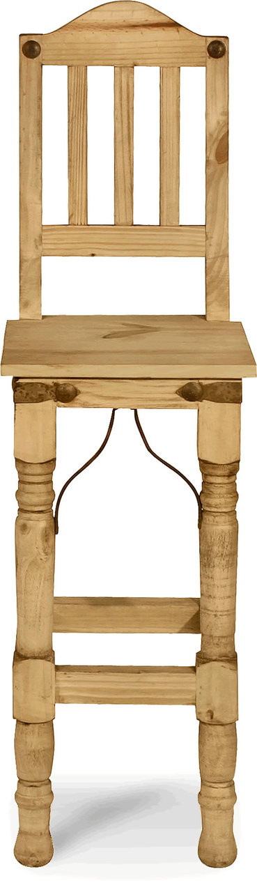 Rustic indian bar stool high point discount furniture Home bar furniture clearance