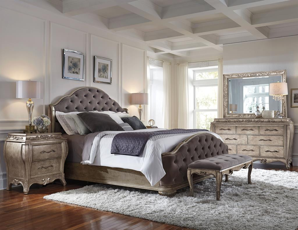 Pulaski rhianna bedroom set high point discount furniture - Closeout bedroom furniture online ...