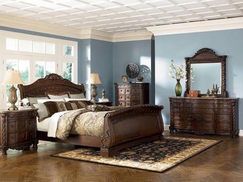 North Shore King Bedroom Set   Ashley Furniture (BB553)