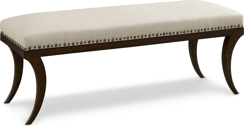 Thomasville Harlowe Finch Phoebe Bench Castile High Point Discount Furniture