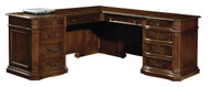 Old World Executive L-Desk by Hekman FREE SHIPPING!