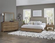 American Modern Upholstered Bedroom Set by Vaughan-Bassett FREE SHIPPING (652BR)