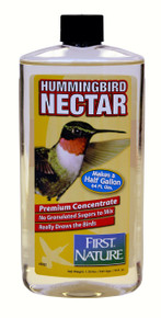16 oz Clear Hummingbird Nectar Concentrate