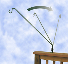 27 inch Extended Reach Deck Hook (must order 3)