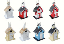 Birdhouse Village Assortment (8 pcs)