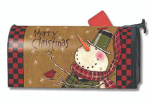Country Snowman Mailwrap