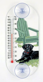 Black Lab Thermometer