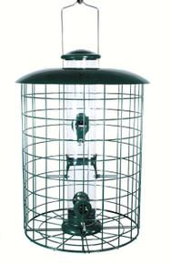 Caged 6 Port Seed Tube Feeder