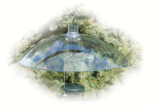 16 in Clear Hang/Mount Weather Shield/Sq Baffle